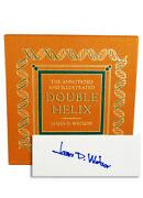 Easton Press Annotated Illustrated Double Helix Watson Signed Limited Edition Vf
