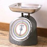 Very Rare Vintage Salter Kitchen Scale Height 320mm Width 290mm Depth 250mm