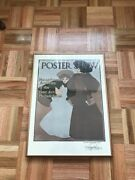 Maxfield Parrish Poster Show Print Framed Vintage Mid Century Classic