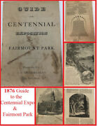 1876 Guide To The Centennial Exposition Philadelphia And Fairmount Park W Pictures