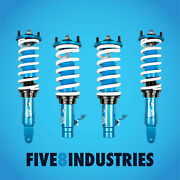 Five8 Industries For 88-91 Honda Civic Ef Coilovers Height Adjustable Kits
