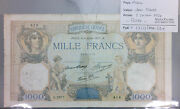 Banknote 1000 Francs Ceres And Mercury - 8-7-1937 Rare