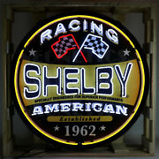 Shelby Racing Neon Sign - Ford - Shelby - 427 - Gt350 - Gt500 - Snake - Carroll