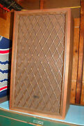 Vintage Radio Shack / Tandy Corp Nova-8b Cat. No 40-4026a Front Grill Speakers