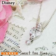 Disney Necklace Tinkerbell Tink Silver Peter Pan Fairies From Japan [a0908]