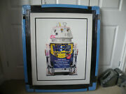 Rare Jj Adams Wd4d And Rogue Trooper Prints. Matching Numbers. Never Been Hung.