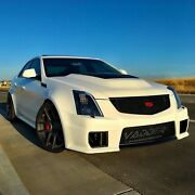 2009-2015 Cadillac Cts-v Heat Extraction Vented Hood Unpainted