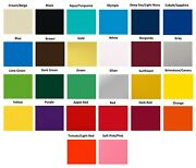 Colored Vinyl 6-year Outdoor Sign Vinyl Film Craft Hobby Roll 24 X 50yds