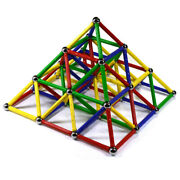156 Pc Magnetic Building Set Magnet Toy For All Ages And Christmas Holiday Season