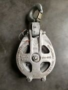 New Sherman And Reilly 4841 6000lb Aluminium Snatch Block Pulley Rigging