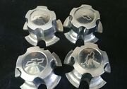 Vintage 1970-1980 Chevy Rally Center Caps Hubcaps Set Of 4 Used