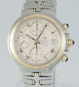 Raymond Weil Parsifal Automatic Chronograph Steel And Yellow Gold 38mm Ref 7790