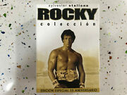 Rocky Collection Sylvester Stallone Edition Special I Ii Iii Iv V 5 Dvd Fox Am