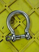 16mm Pin 5/8 Screw Pin Bow Shackle Stainless Steel