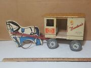 Vintage Bordenand039s Toy Milk Truck Made By Rich Toys Clinton Iowa