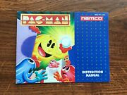 Pac Man Namco Pacman Nes Nintendo Instruction Manual Only