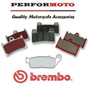 Brembo Sc Sintered Fast Road And Track Front Brake Pads Z800 E Non-abs 13-16