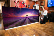 Lavender Summer   Limited Edition Acrylic Mounted Print   Peter Lik Style