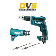 Makita Dfs452z 18v Brushless Drywall Screwdriver Collated Autofeed Attachment