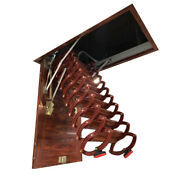 Telescopic Loft Wall Stairs Hatch Attic Extension Extending Roof Ladders House
