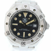 Tag Heuer Super Professional Ws2110-2 Stainless Steel Silver Auto Menand039s [e0919]