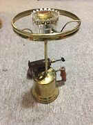 Vintage Turner 150 Brass Works Sycamore Ill Blow Torch Lamp Rustic Steam Punk
