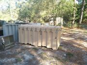 Military Alaska Shelter Tent Crate Only No Tent Contaier Storage Box Prepper