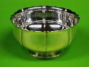 Sterling Silver Footed Serve Bowl By Frank M. Whiting And Company 827.4 Grams.