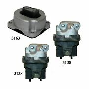 3 Pcs Front Motor And Trans Mount Fit 2009-2010 Fits Dodge Challenger 5.7l And 6.1l