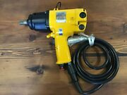 """Uryu Ux-120ec Oil-pulse Wrench. Pneumatic Control Tool 1/2""""drive, Made In Japan"""