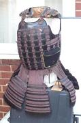 Japanese Warriors Armour Genuine Late 18th Early 19th Century