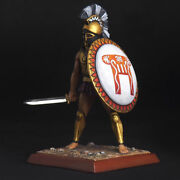 Tin Soldier Spartan Hoplite With Sword Ancient Warriors 54 Mm
