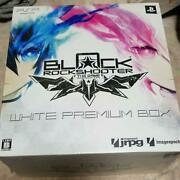 Black Rock Shooter Limited Psp White Premium Box With Figma Figure Japan F/s