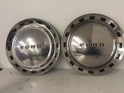 1952 Ford Hubcap Wheelcover 15 Inch Wheel Cover Oem