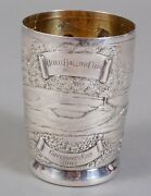Quail Hollow Galmer Sterling Silver Golf Julep Governor's Cup 2002 - Stunning