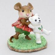 Wee Forest Folk Special Color Christmas Dancing Bear Sold Out