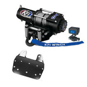 2500 Lb Kfi Winch Combo Kit M1 For 2002-2008 Yamaha Grizzly 660 4x4