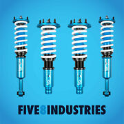 Five8 Industries For 98-02 Honda Accord Cf Cg Coilovers Height Adjustable