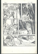++ Great Gene Colan Fully Penciled Art For A Demon Story - Pg 8