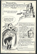 ++ Vampire + Mad Dr + Haunted Castle - Spoof Ad - Orlando Busino For Bats