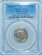 1930 S/s Pcgs Ms64 Fs-501 Rpm Repunched Mint Mark Buffalo Nickel