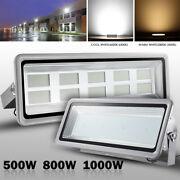 500w 800w 1000w Led Flood Light Cool Warm White Outdoor Yard Spot Security Lamp
