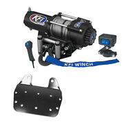 3000 Lb Kfi Winch Combo Kit M1 For 2002-2008 Yamaha Grizzly 660 4x4