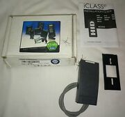 Hid 6100cgn0000 Iclass R10 Contactless Smart Card Reader Access Control Device