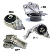4pcs Motor And Trans Mount Fit 2006-2007 2011 Fits Chevy Hhr 2.2l And 2.4l - Auto