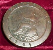 1797 Great Britain 2 Pence Km 619 Large 2 Ounce Coin