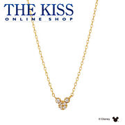 Disney Necklace Mickey Mouse K10 Yellow Gold Ladies From Japan [a0929]