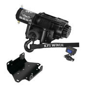 2500 Lb Kfi Stealth Winch Combo Kit M2 For 2007-2015 Yamaha Grizzly 700 4x4