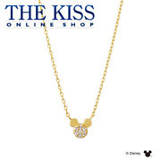 Disney Necklace Mickey Mouse K10 Yellow Gold Ladies From Japan [a0930]