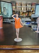 Vintage Marx Campus Cuties Figure 1964 Plastic Stamped Early Pinup Style